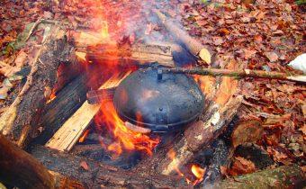 UFO sütődiszkosz – A tábori elemózsiagyár