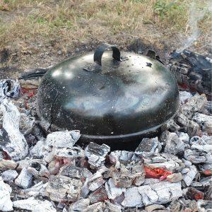 HAPPY FLAME UFO sütődiszkosz a parázsban